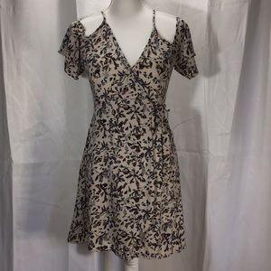 Millibon USA Spring or summer wrap around dress.